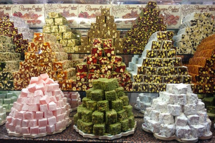Platos y Sabores de Estambul (Turquía) - Delicias turcas