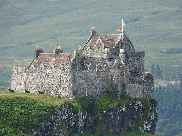 Duart Castle, Isle of Mull, Scotland [if you're a McClean/McLean, etc, you sign a special guest book]