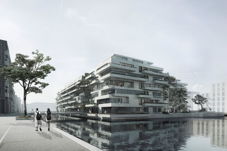 COBE Together with Vilhelm Lauritzen Architects win a competition for Kronløbsøen - a unique new island in Denmark