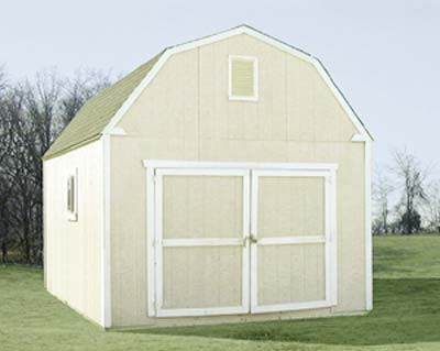 Sutherlands 12 39 X 16 39 Mini Barn Shed Package Make The Shed