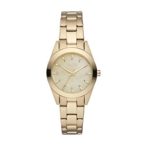 DKNY Donna Karan New York Damenuhr Uhr Nolita NY8620 Gold Womens Ladies Watch