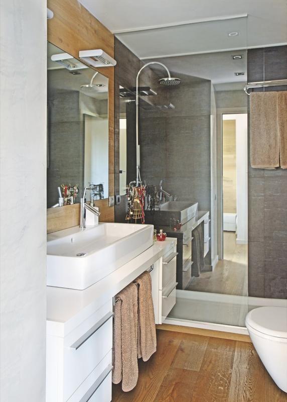 mueble cajones laterales + toallero
