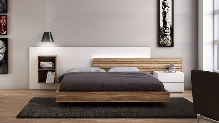 Modern platform bed