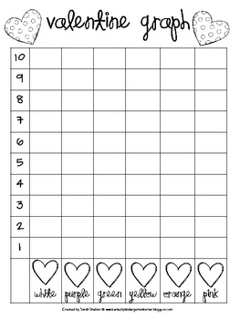 FREE Valentine Graphing Activity with conversational hearts! #valentinesday
