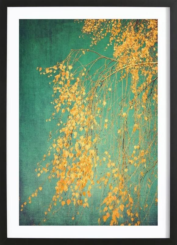 Whispers of Yellow as Framed Poster by Ingrid Beddoes | JUNIQE
