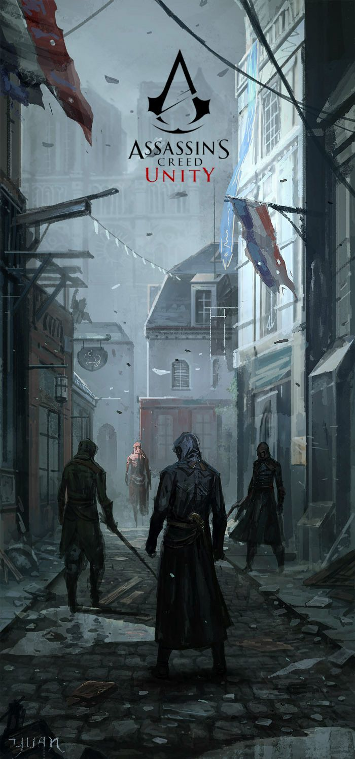 Assassin's Creed - Unity by ChaoyuanXu.deviantart.com on @deviantART