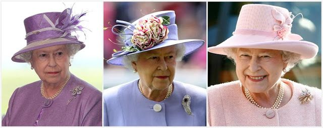The Royal Order of Sartorial Splendor: Wedding Wednesday: The Queen's Wedding Gifts