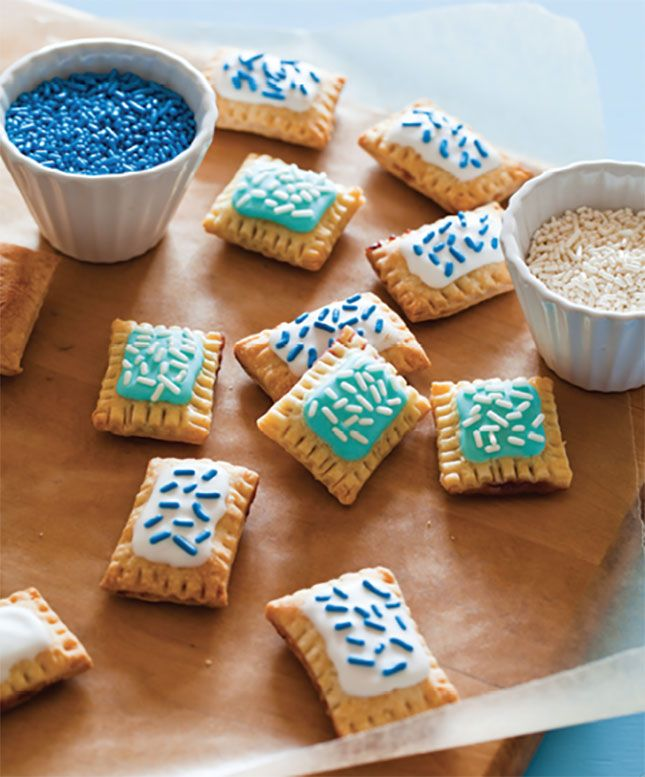 How adorable are these mini pop tarts?