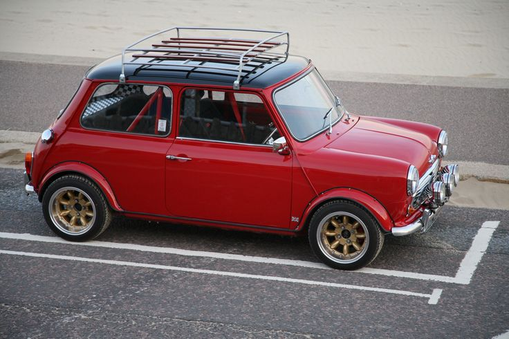 Mini , a Mk1 with wind up windows