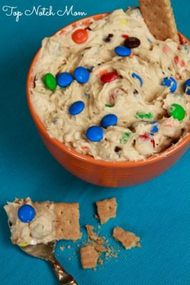 If you love cookie dough, you will love this. It makes a ton of dip so it's the perfect thing to serve at a party or to bring as a side dish to someone's house. Trust me if you like cookie dough, M...