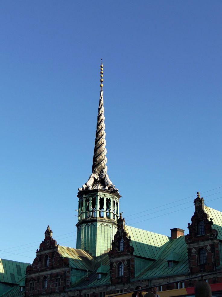 Børsen - Dragon spire - Kobenhavn, Kobenhavn