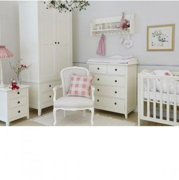 a stunning and beautiful white nursery furniture set from nordic style this swedish nursery furniture is made from solid beech and birch wood and built to