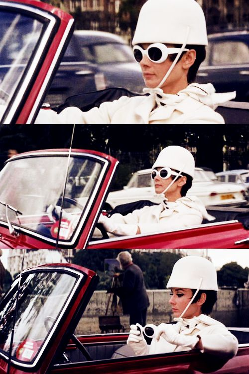 Audrey Hepburn in' How To Steal a Million' love this movie