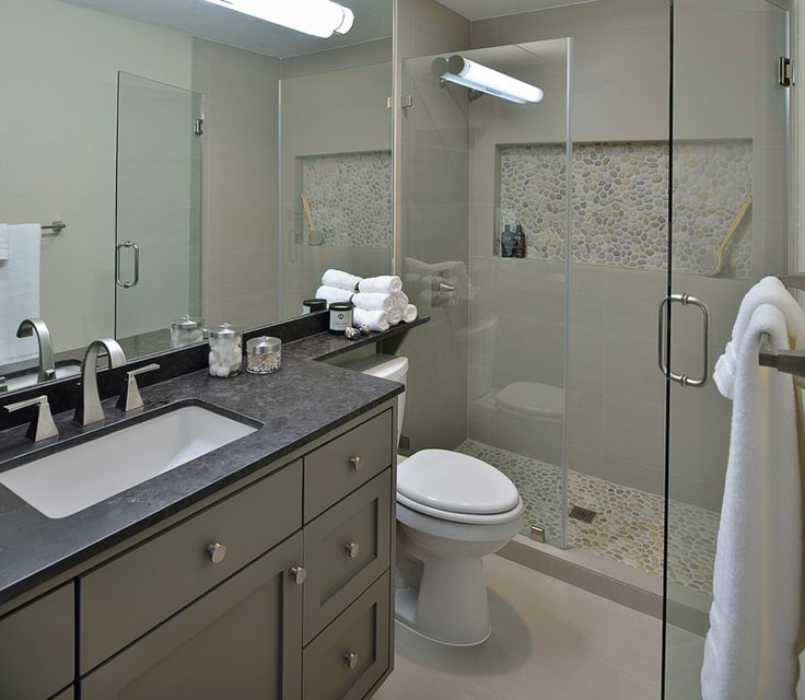 Before & After: A Bachelor's Dated Bathroom Gets a Contemporary Refresh — …