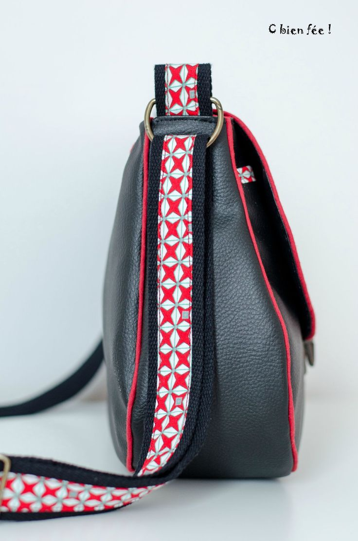 26 best besace made in china images on pinterest couture - Tuto couture sac besace ...