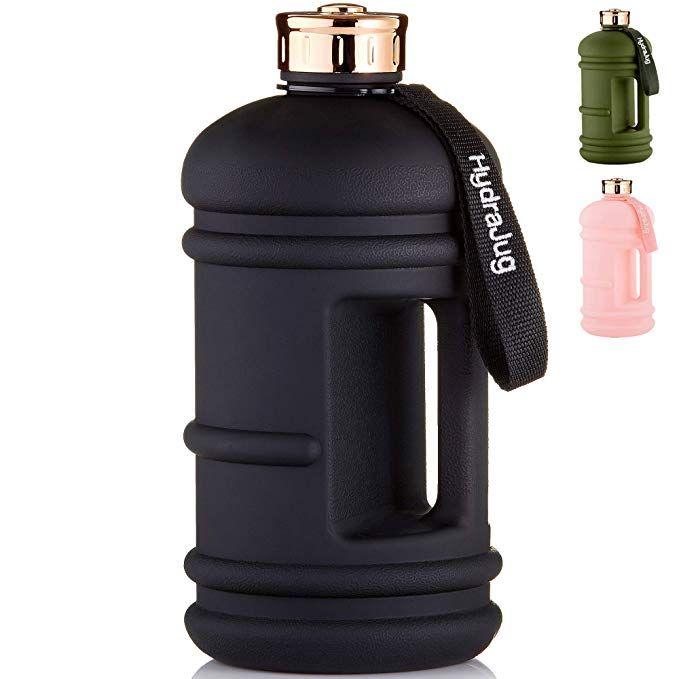 Half Gallon Water Bottle Dishwasher Safe Bpa Free Material Easy To Carry Big Capacity Reu Gallon Water Bottle Large Water Bottle Half Gallon Water Bottle