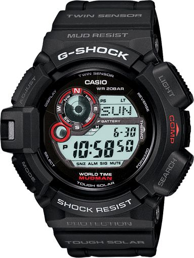 The MUDMAN - Solar Powered, one-touch easy access button goes directly to compass & thermometer mode and a moon phase graph can help to determine whether the nighttime hours will be dark or light
