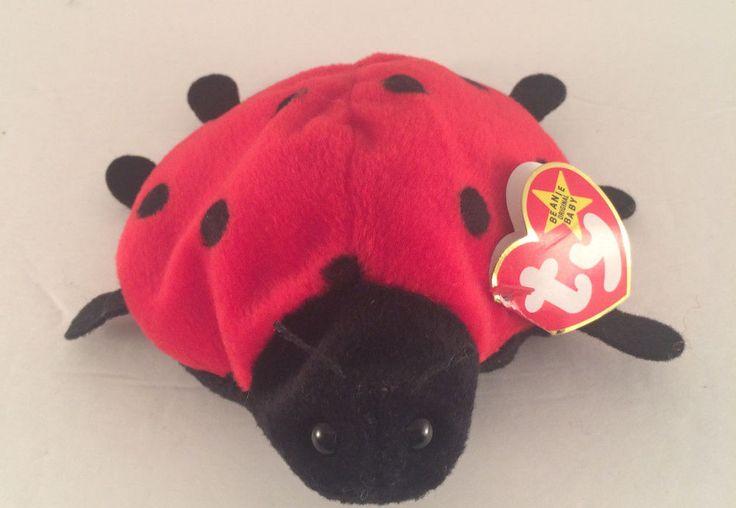 7 Spots Beanie Babies Lucky the Ladybug Beanie Baby Plush
