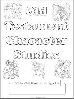 free OT character notebooking pages. 19 different people.