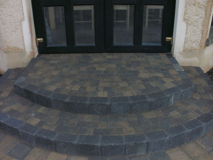 17 best images about front door stone steps on pinterest for Front door steps ideas