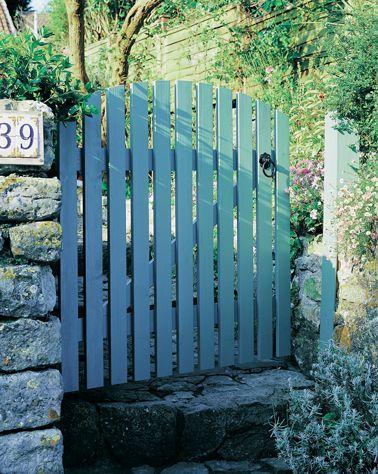 Les 25 meilleures id es concernant portillon jardin sur for Fabriquer un portail de jardin en bois