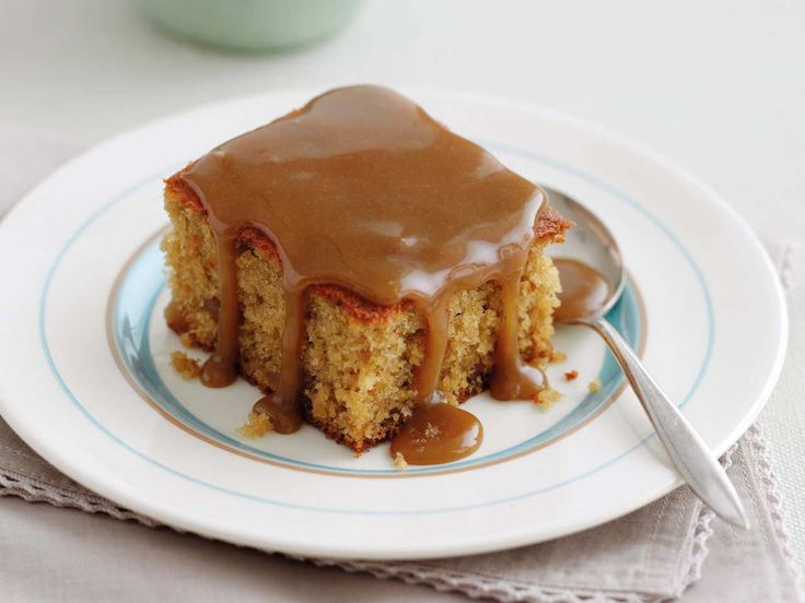 Mary Berry's recipe for a traditional English sticky toffee pudding with a hot toffee sauce is as easy as it is delicious.