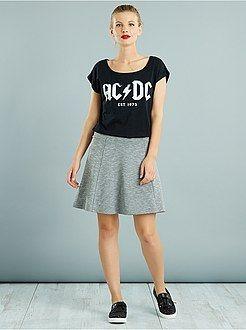 Camisetas - Camiseta holgada 'ACDC' - Kiabi