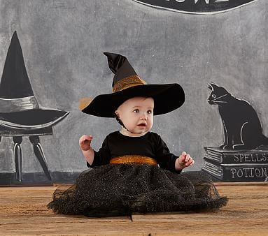 Baby Witch Tutu Costume #pbkids