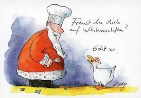 nikolaus lustige bilder | Weihnachtspostkarten mit lustigen Sprüchen – Freust du dich auf ...