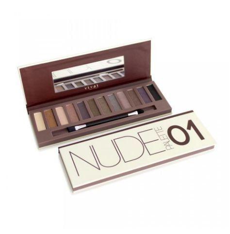 Paleta de Sombras Nude Palette Vivai Cor 01http://www.lookstore.com.br/paleta-de-sombras-nude-palette-vivai-cor-01