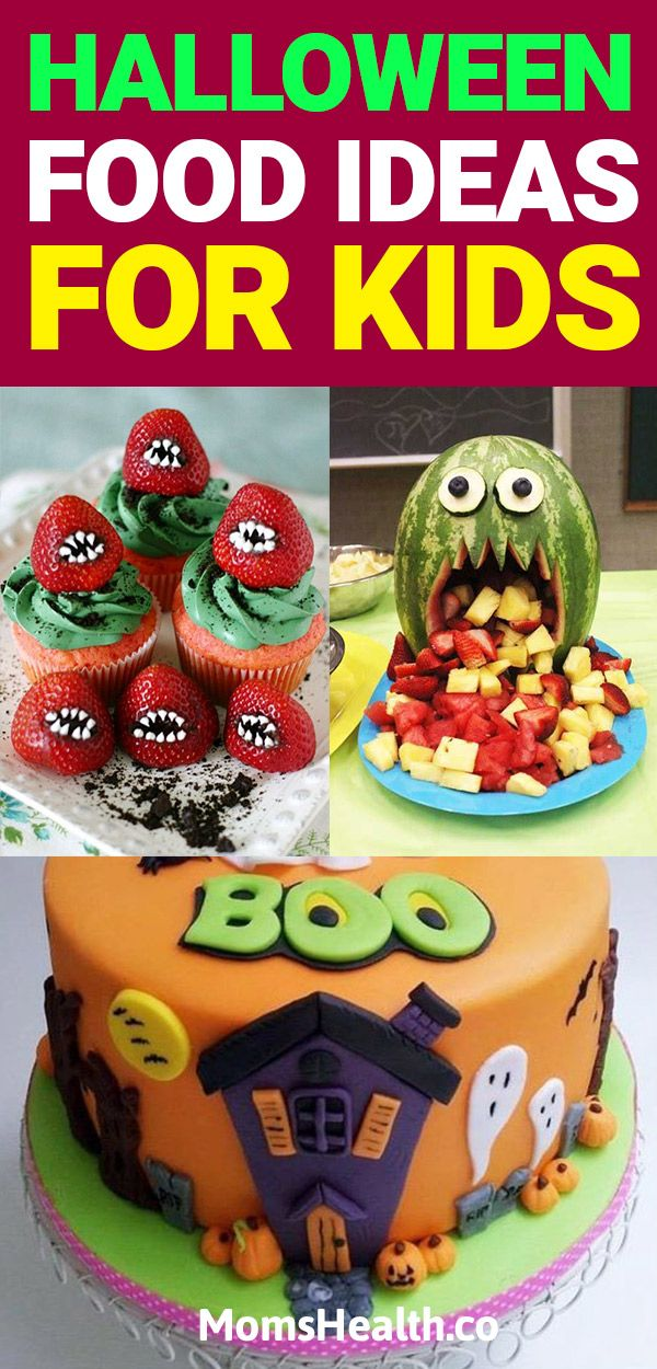 Halloween Food Ideas for Kids - Best Halloween Treats for Party - halloween treat ideas for school parties