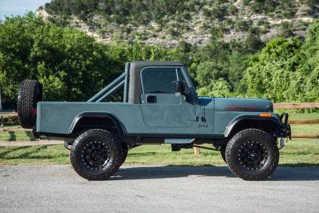 1984 Jeep Cj8 Scrambler V8 In 2020 Jeep Jeep Cj Hot Rods Cars Muscle