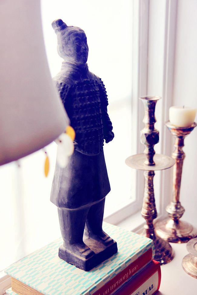 H-011 terrakotta soldat, kina, China, Terrakottaarmén - www.baazar.se - foto: Att vara någons fru