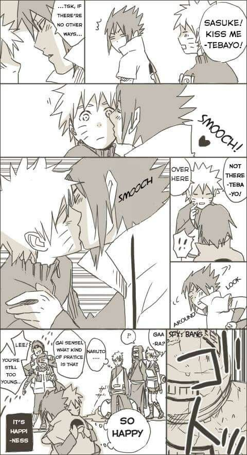 i don't ship Naruto andSasuke but this is funny xD