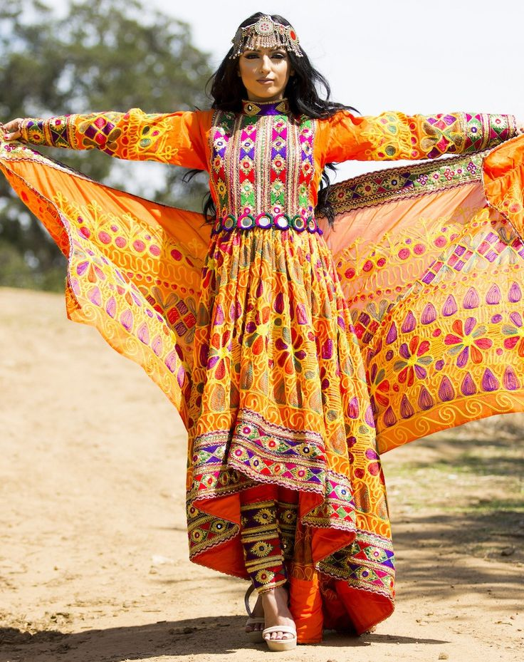 Asal Qalin Baaf Afghan Dress