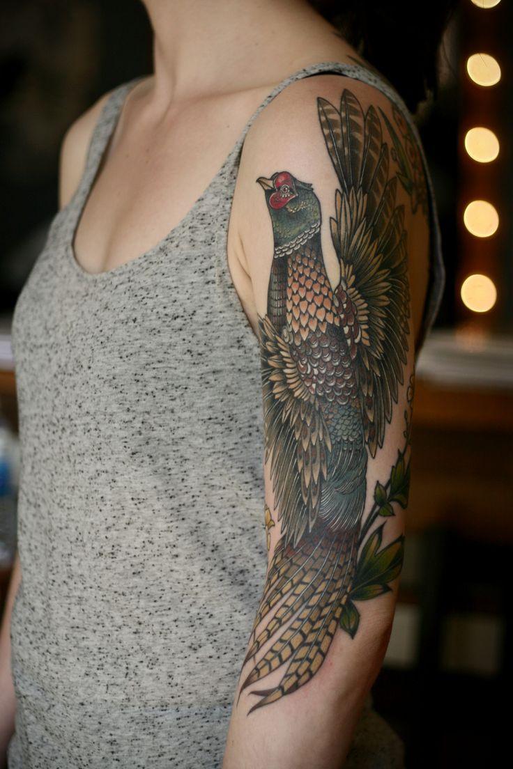 Cypripedium Reginae Tattoo