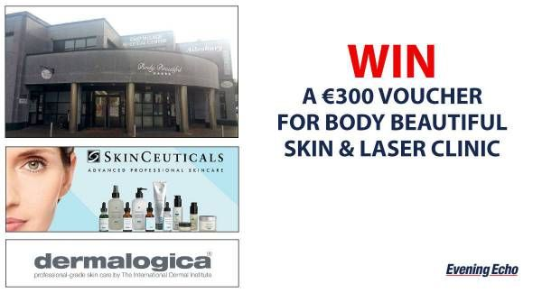 Win a €300 voucher to Body Beautiful Skin and Laser Clinic - https://www.competitions.ie/competition/win-e300-voucher-body-beautiful-skin-laser-clinic/