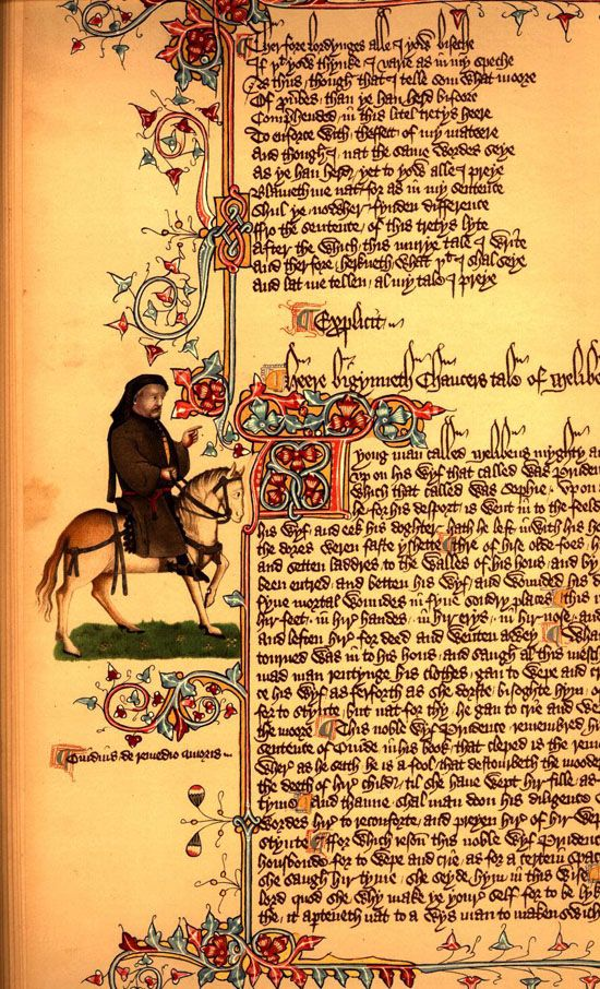 best geoffrey chaucer ideas canterbury school illumination from the canterbury tales by geoffrey chaucer