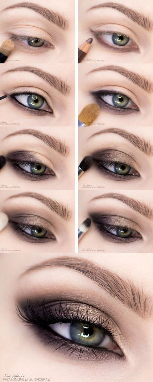15 Step-By-Step Smoky Eye Makeup Tutorials for Beginners – Molly Guiniven