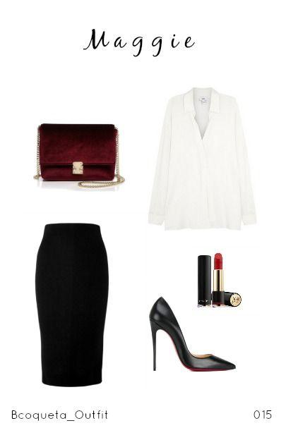 Mi Isla Falda | Victoria Beckham Blusa | Harvey Nichols  Zapatos | Christian Louboutin Bolsa |Bloomingdales  Labial | Lancome