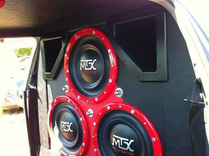 RFL152 SPL Competition Subwoofers In A Custom