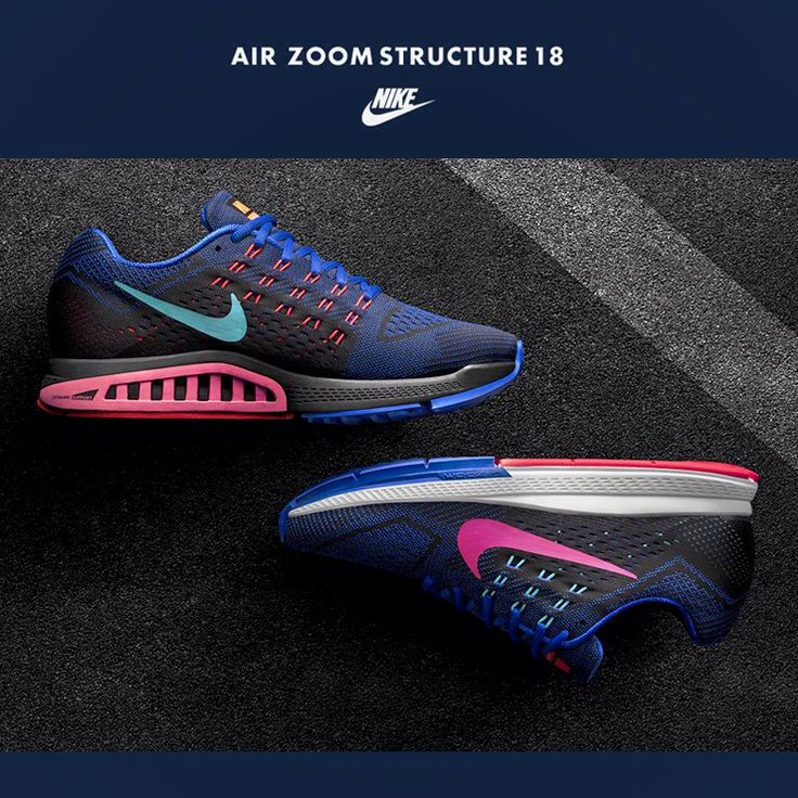 womens nike zoom structure 18 gold blue