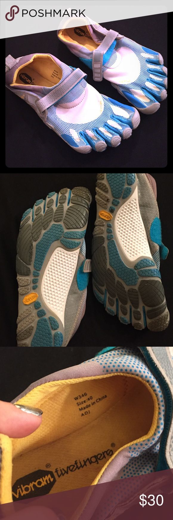 Vibram Five Fingers women running shoe sneaker 8.5 Vibram Five Fingers women running shoe sneaker fits size 8 to 8.5. Excellent condition used once or twice. Authentic purchased from city sports. Machine wash warm. MAKE AN OFFER or bundle to save!! Xo RAPJAXX Los Angeles Vibram Shoes Athletic Shoes