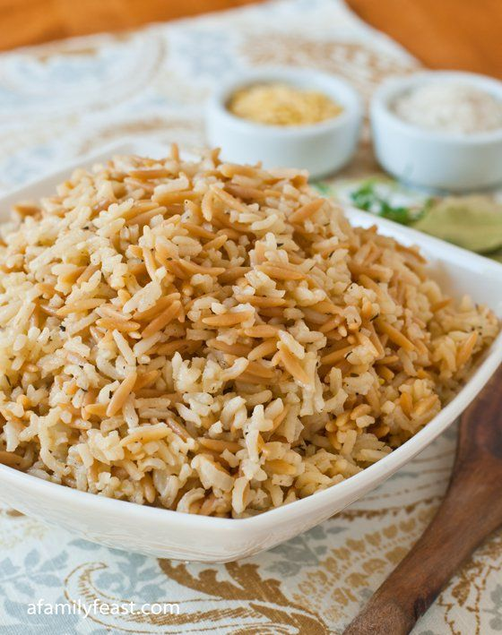 Rice Pilaf –A good rice pilaf will really make a dinner special. Check out this delicious recipe to perfect this side dish!