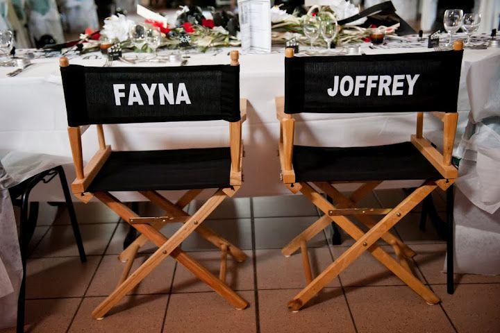F&J : déco du lieu (BDG Photography) - mariage cinéma - movie wedding themed