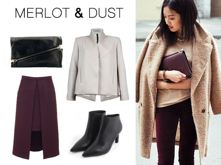 Street Style: how to wear Burgundy – Taylor