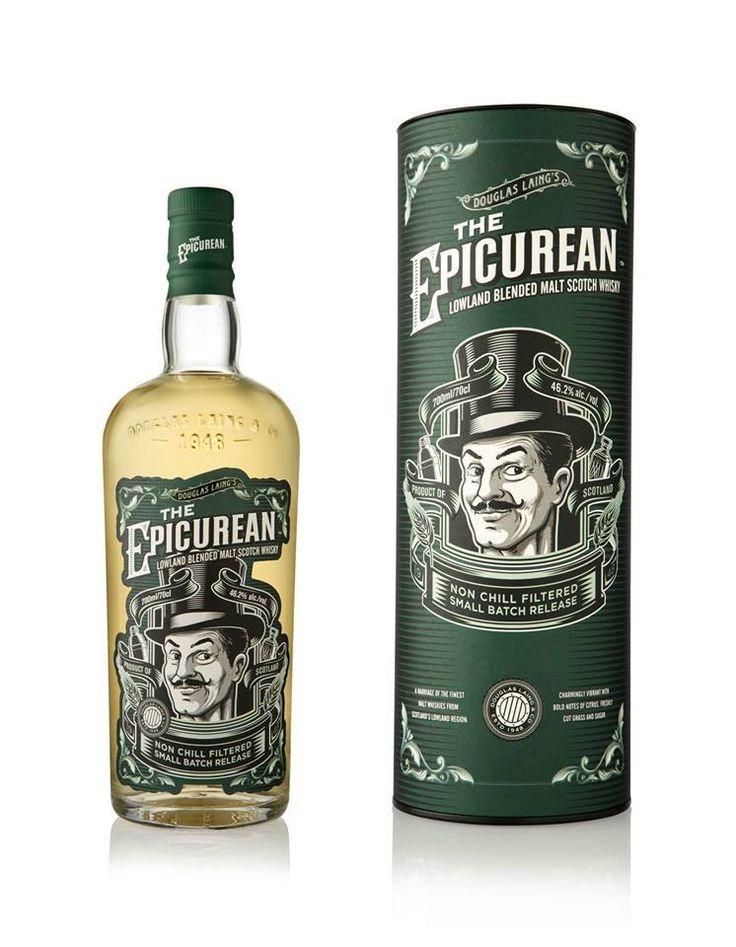 The Epicurean NEW!  #the #new #epicurean #sklepballantines #comingsoon #douglas #laing #whisky #blendedmalt