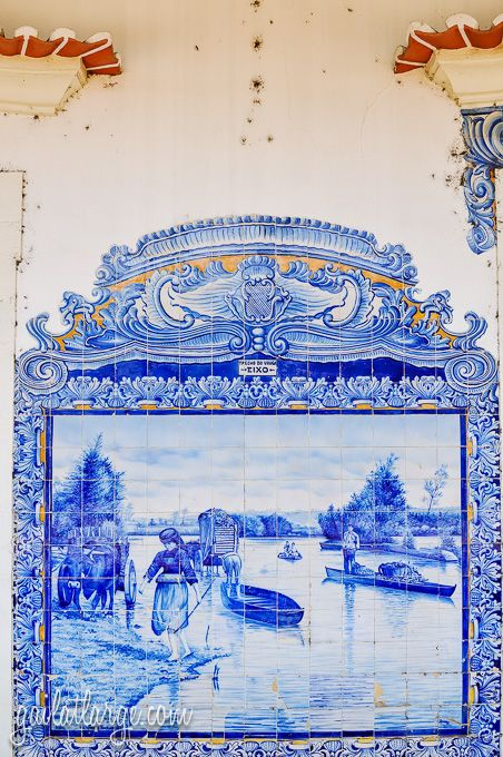 Aveiro Train Station (Central Portugal) (5) by Gail Edwin Aguiar