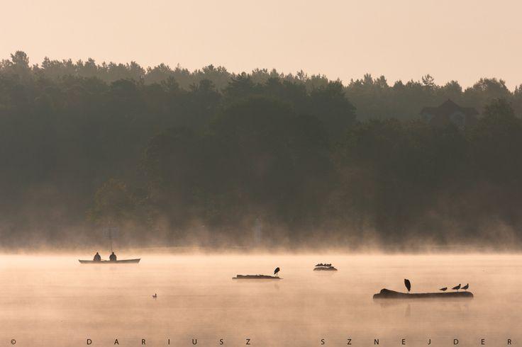 lake Białe, Augustów, Poland