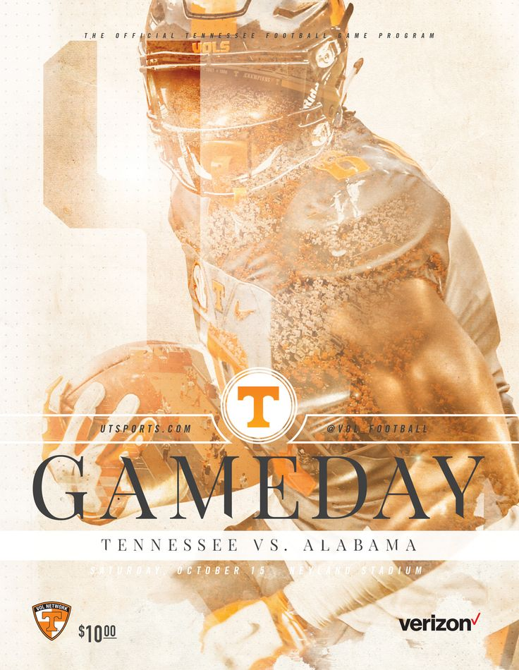 The 2016 @UTSports Football Gameday Program vs. Alabama includes a feature on sophomore wide receiver Jauan Jennings.